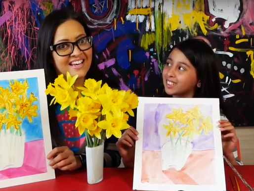 How to Paint Watercolor Still Life