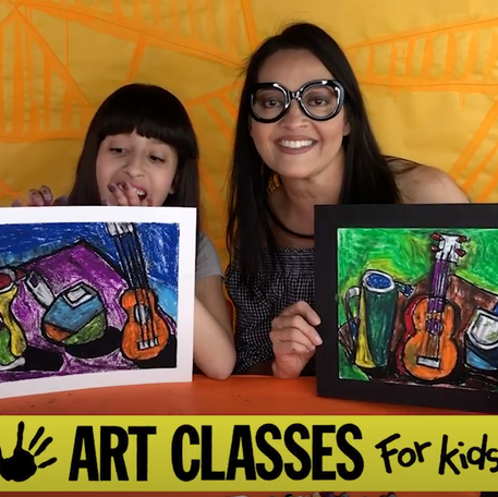 How to Draw a Picasso Style Still Life