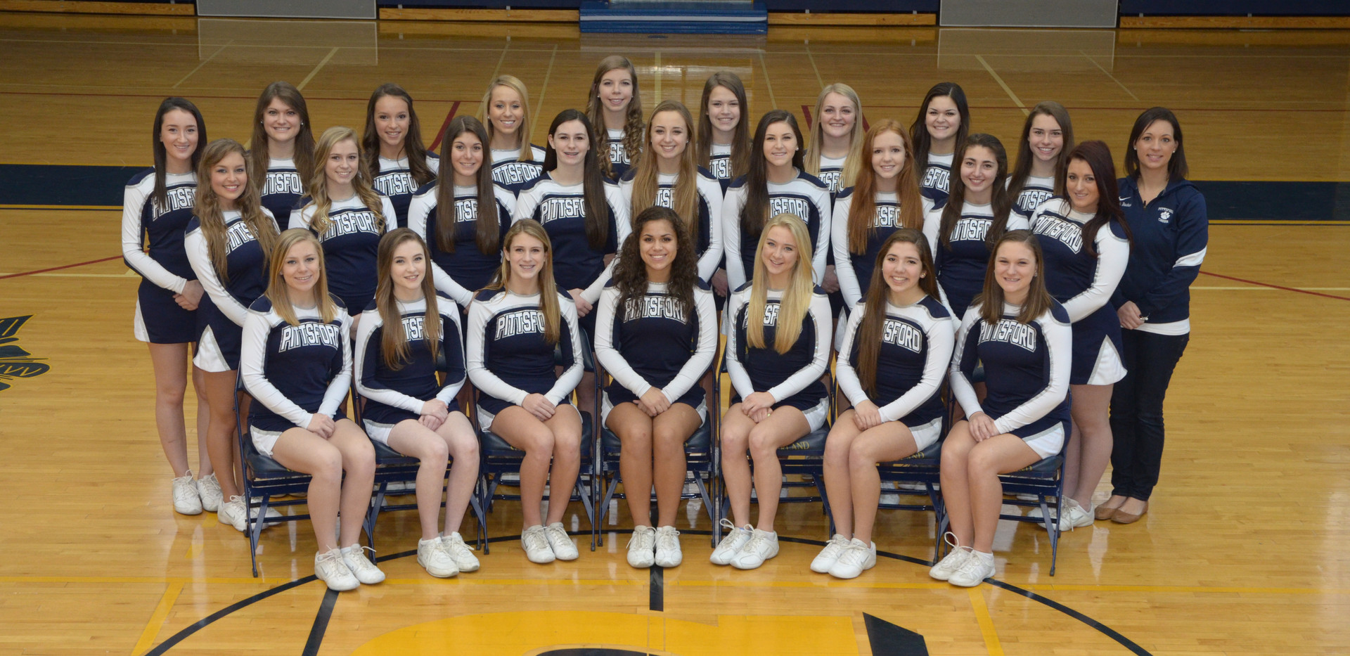 Pittsford Cheer Photo Varsity Winter 13-