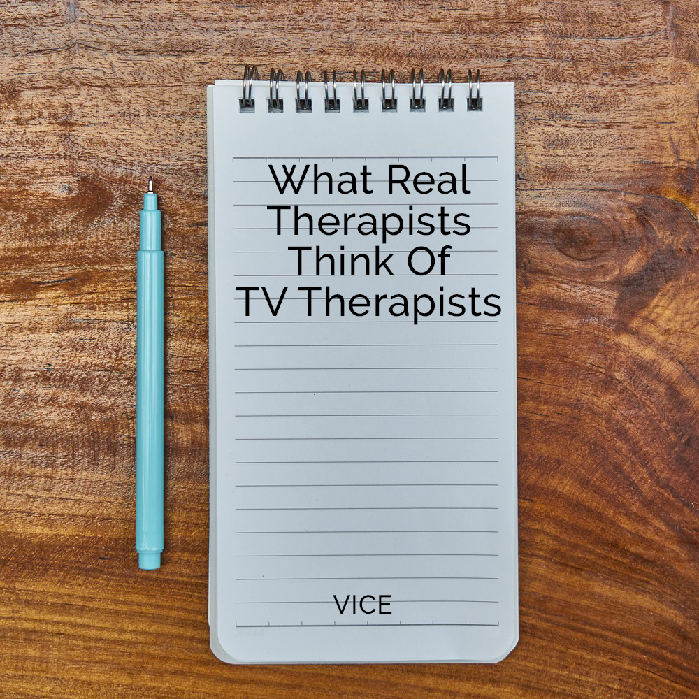 What Real Therapists Think of TV The
