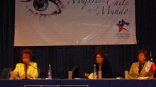 """Primer Encuentro"""" Mujeres de  Chile  en el  Mundo"""" 7 al 18 de Abril 2007."""