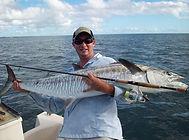 cairns fishing adventures, fishing charters cairns, Queensland, Australia,Big Spanish Mackerel with Cairns Fishing Adventures