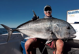 cairns fishing adventures, fishing charters cairns, Queensland, Australia, Giant Trevally Cairns Fishing Adventures