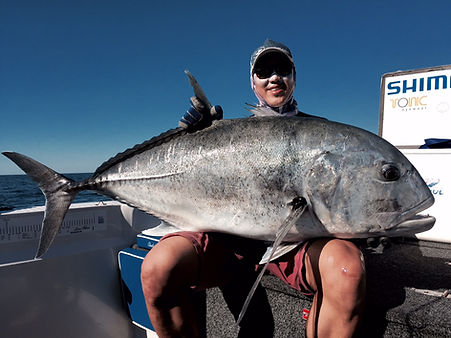 cairns fishing adventures, fishing charters cairns, Queensland, Australia, Giant Trevally