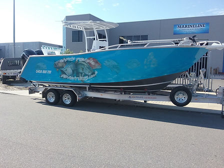 cairns fishing adventures, fishing charters cairns, Queensland, Australia, sports fishing boat at Cairns Fishing Adventures