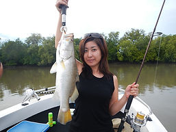 cairns fishing adventures, fishing charters cairns, Queensland, Australia, Chines girl | Barramundi | cairns fishing charter | cairns fishing adventures | Barramundi, cairns fishing charters| cairns reef fishing| cairns fishing adventures | Cairns fishing trips | Cairns fishing Tours | Cairns fishing |