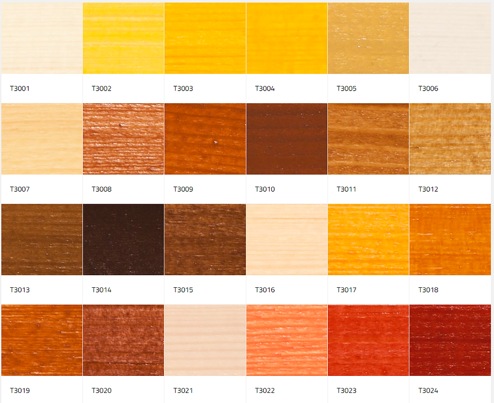 colour palette for interior wood.