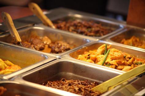 Läcker thailändsk mat