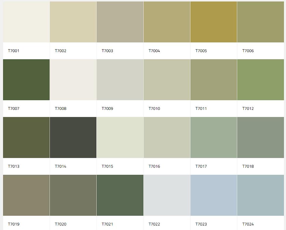 exterior color palette