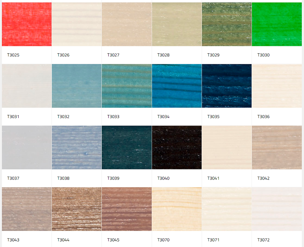 colour palette for interior wood 2
