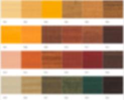 wood colour palette