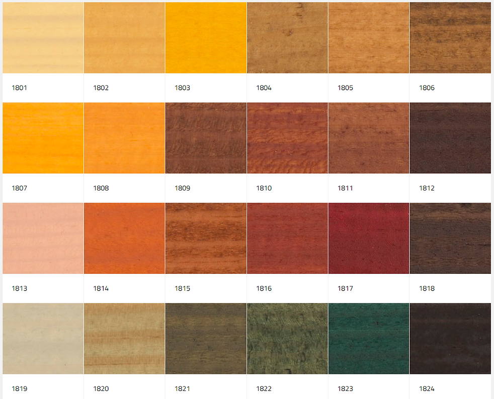 wood colour palette