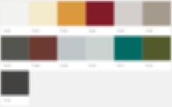 Kolibri decorative textured colour palette