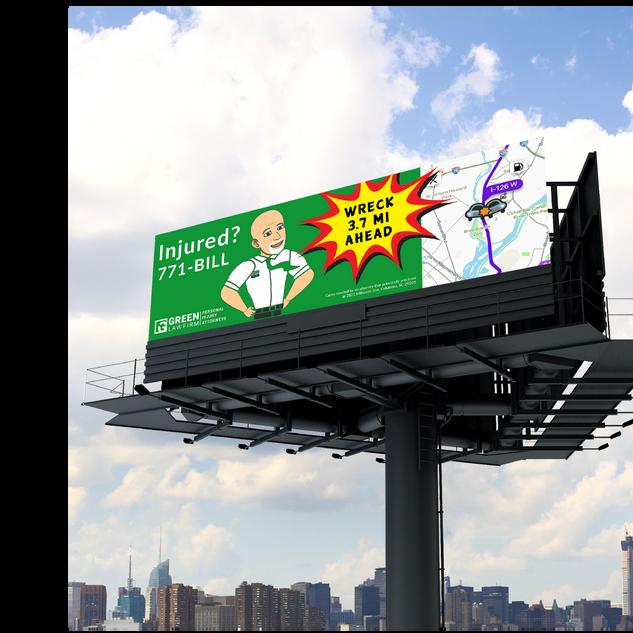 Bill Green billboard