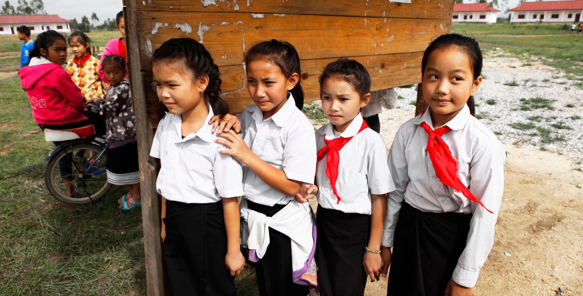 라오스 씨엥쾅주 세일롬학교 학생들.JPG