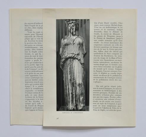 'MUSÉE IMAGINAIRE, Page 26 & 27', 2016