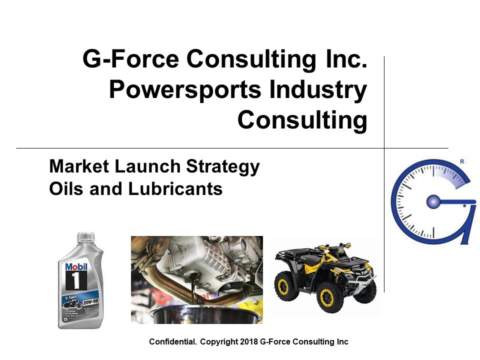 Motorcycle and UTV oil market research