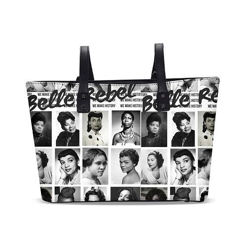 """Belle Rebel """"We Make History"""" bag-STYLISH TOTE"""