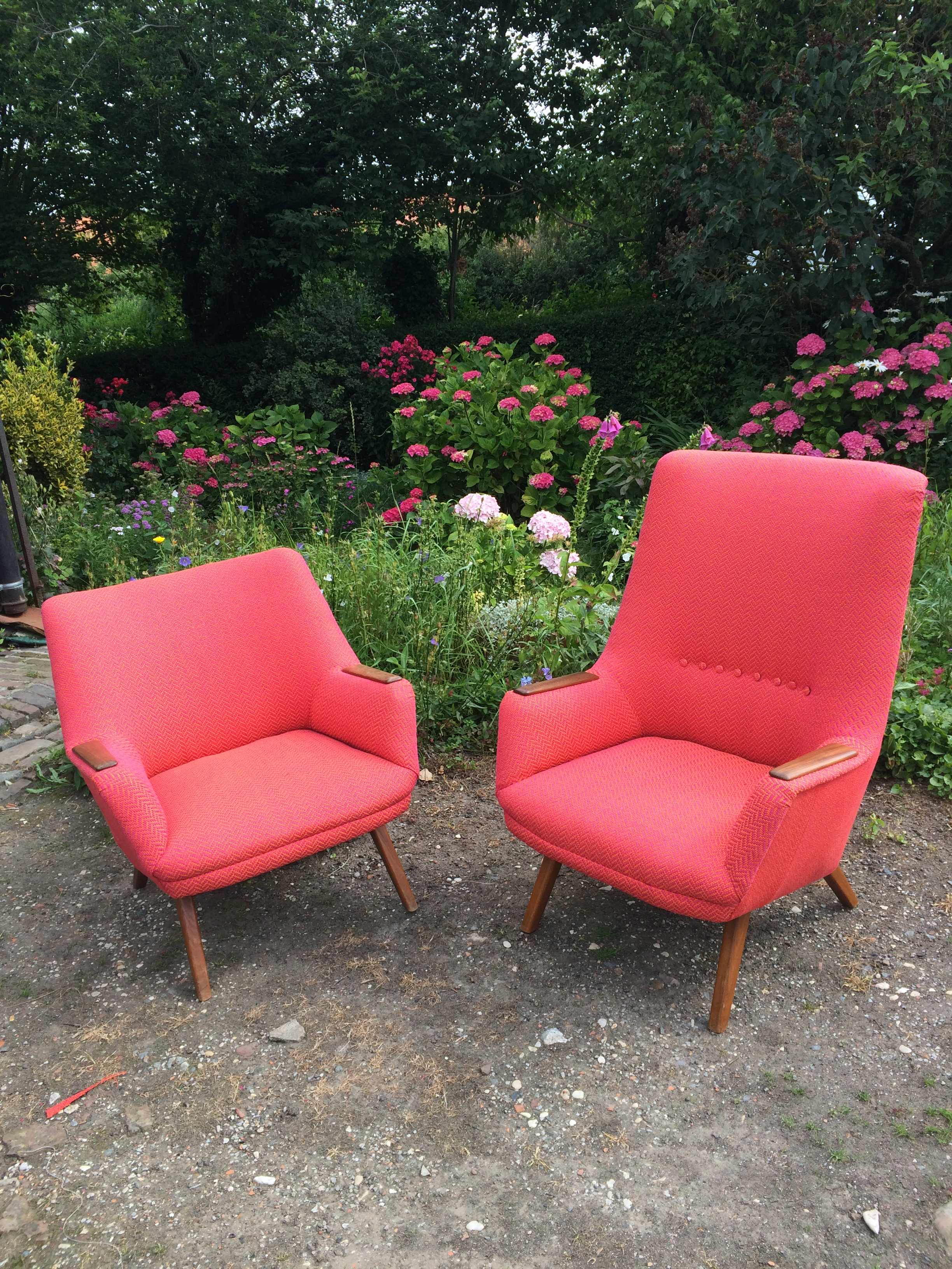 paire de fauteuils Bovenkampf