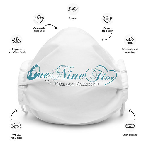 One Nine Five Face mask