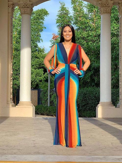 Ombre Maxi Dress