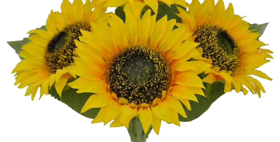 "11"" Sunflower Bush X4"