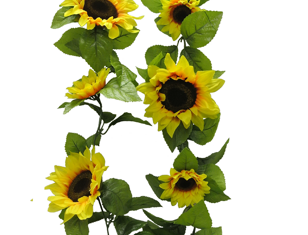 "65""  Sunflower Garland"