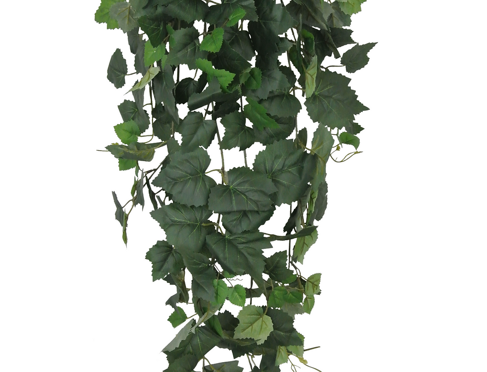 """42"""" Green Hanging Bush with 240 leaves"""