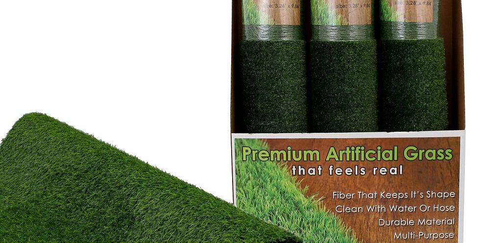 Premium Artificial Grass 3.28'x 9.84'