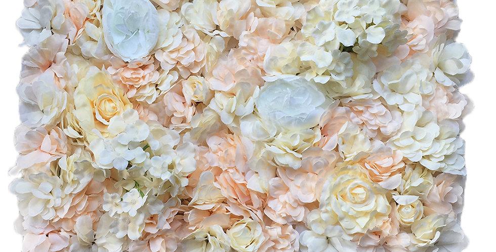 Premade Artificial Flower Wall
