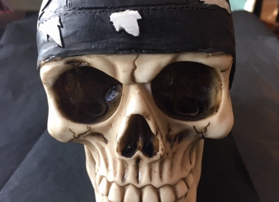 Road to Hell Skull