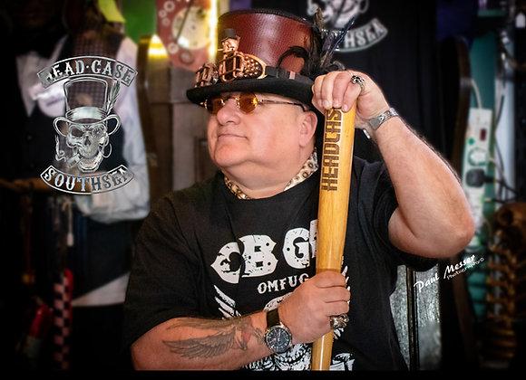 Custom Faux Leather Top Hat XXL
