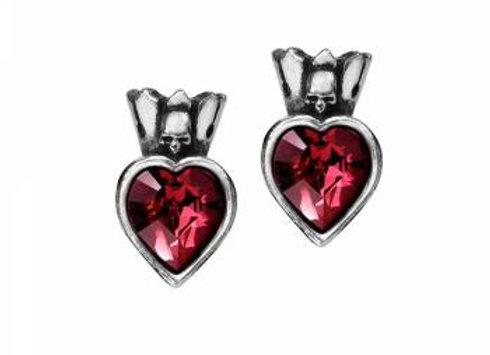 Alchemy Claddagh Heart Earrings