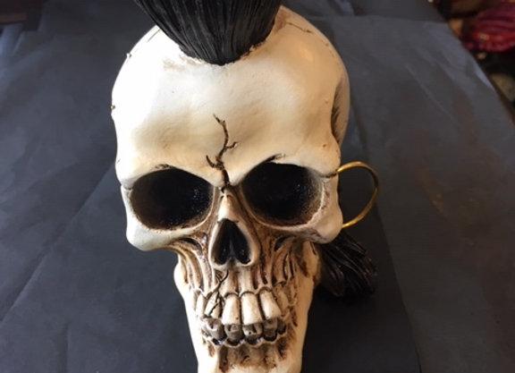 Punks Not Dead Skull