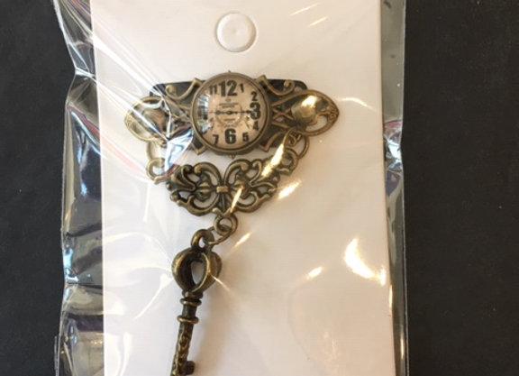 Decorative Steampunk Beard Clip