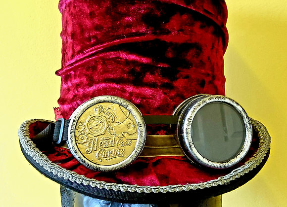 Steampunk Stovepipe Hat HC16M