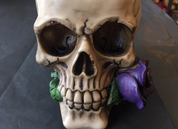 Purple Rose From The Dead Skull