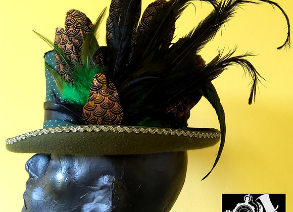 Steampunk Top Hat HC8 XL