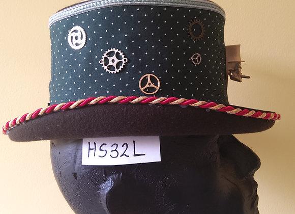 SteampunkTop Hat HC32L