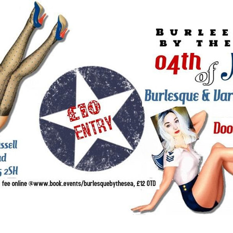 4th July Burlesque by the Sea