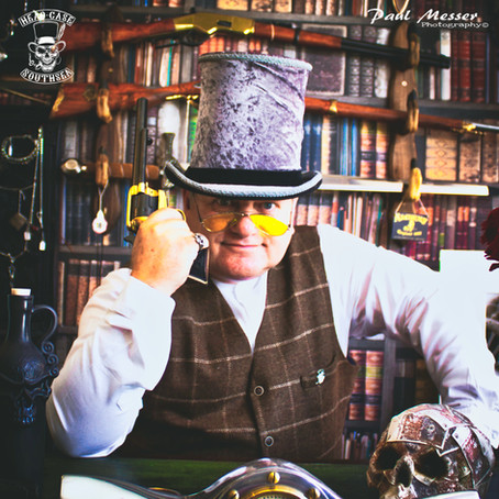Steampunk Festival Hats- Now available at our Online Store. www.headcasecurios.com