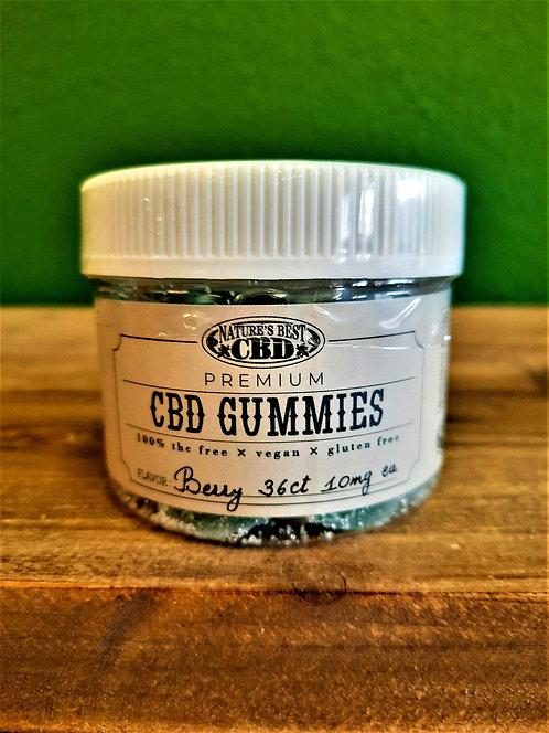 CBD Gummies - Berry (36 ct.)