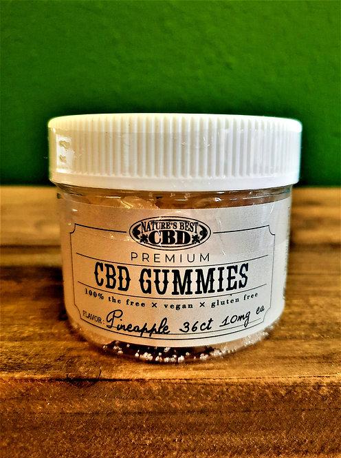 CBD Gummies - Pineapple (36 ct.)