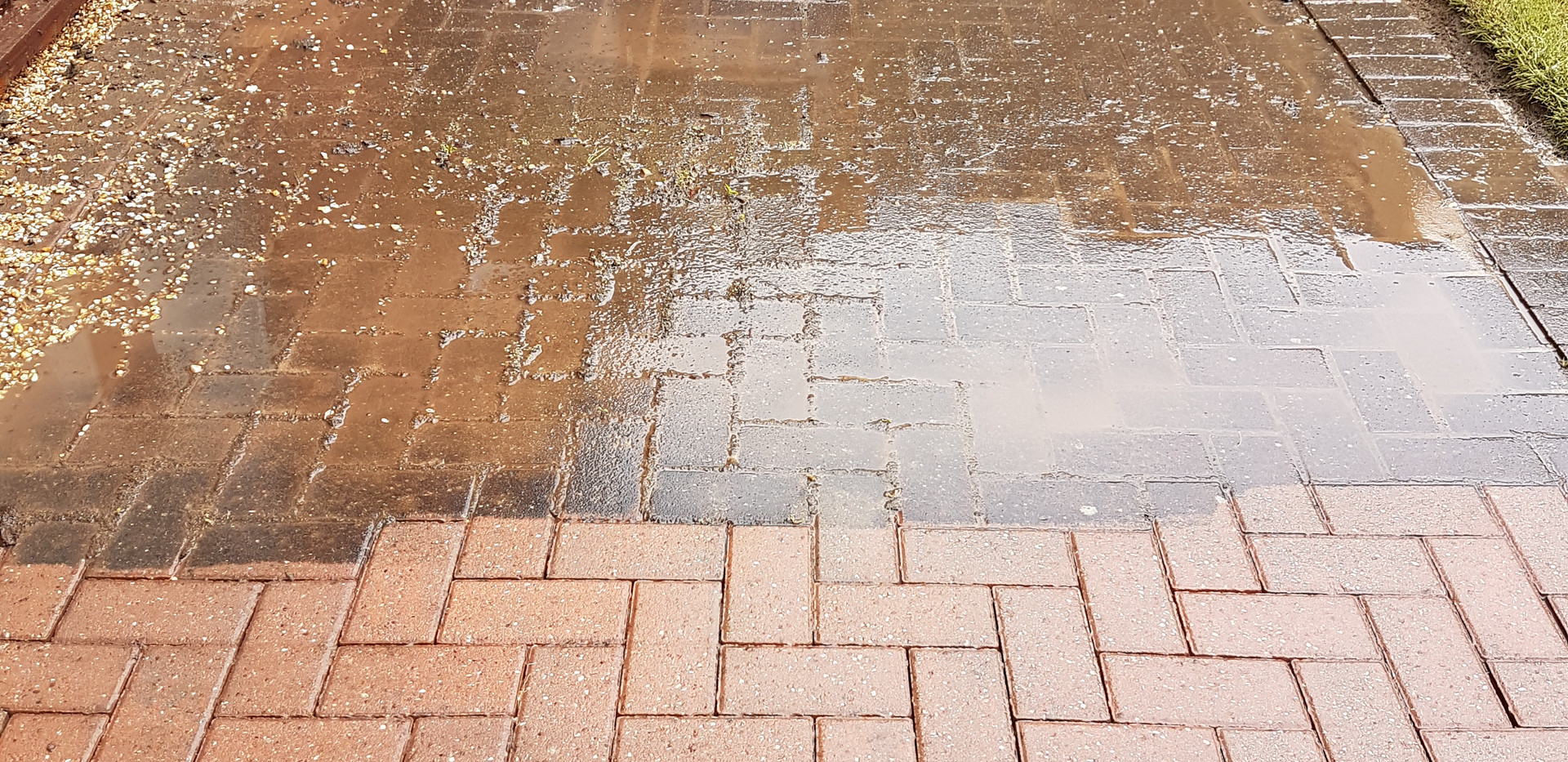 Driveway cleaning Rushden
