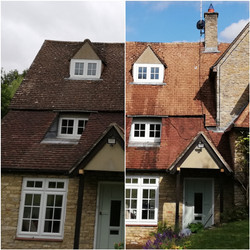 Roof cleaning Sharnbrook