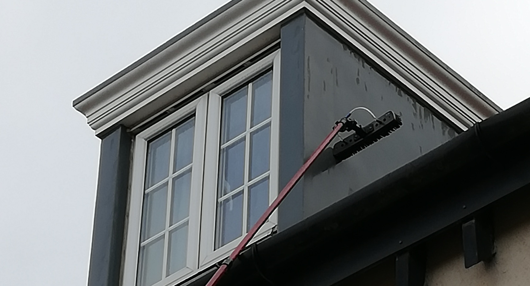 window cleaning, dormer cleaning