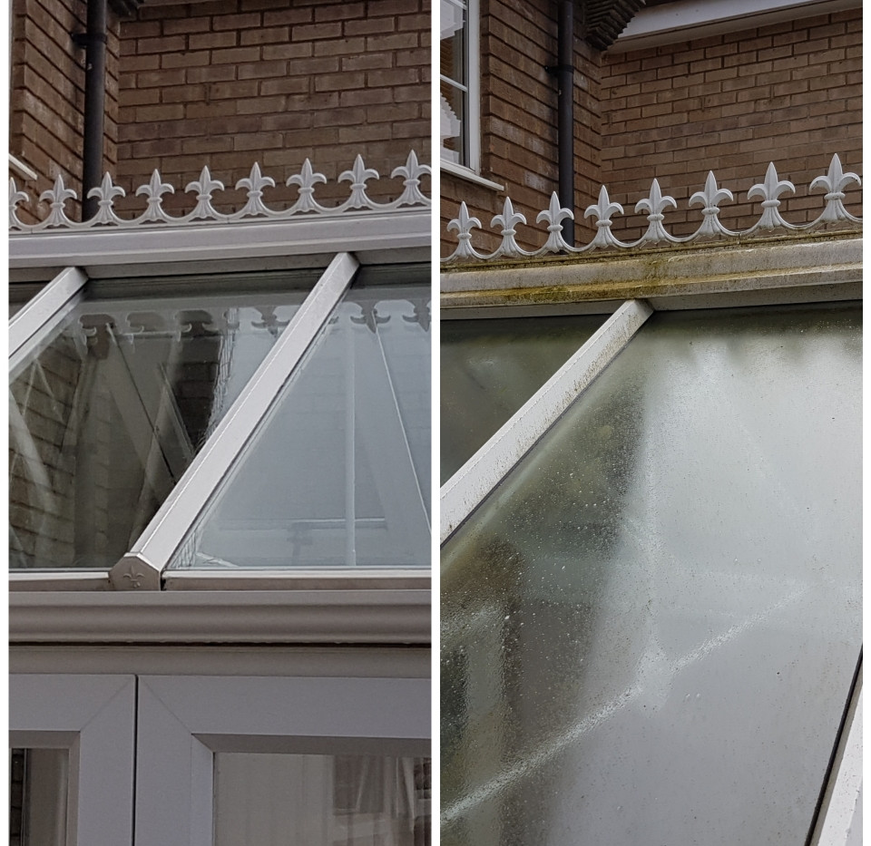 Conservatory roof cleaning Rushden