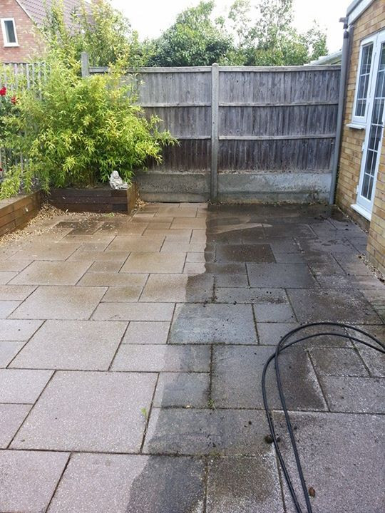 Patio cleaning Sharnbrook