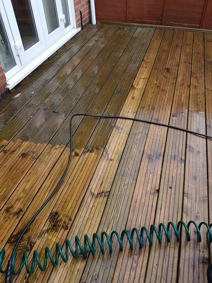 decking clean Irchester