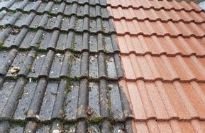 Garage roof cleaning Northampton